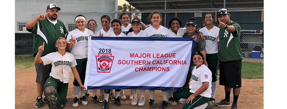 Major Softball Southern California Champions