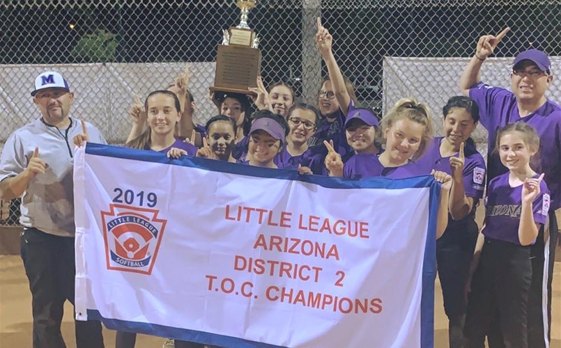 2019 TOC Softball District Champs