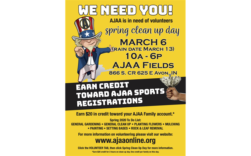 AJAA Spring Clean Up Day
