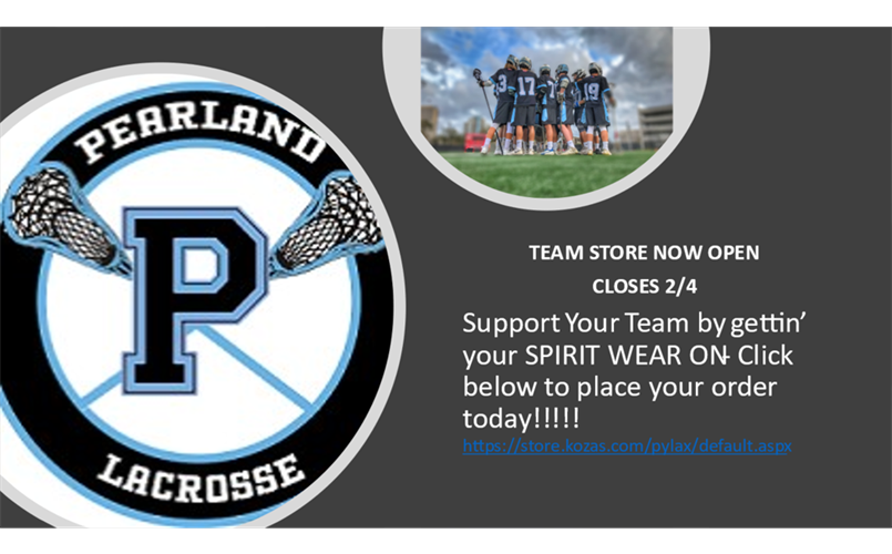 PYLAX Spirit Wear Store: Click on Read More for link