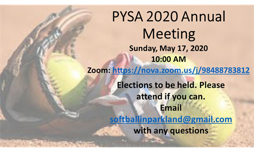 PYSA Annual Meeting and Board Elections