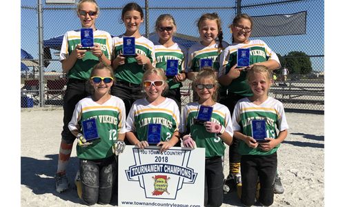 2018 Town and Country 10U State Champions