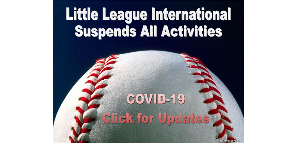 Little League International Suspends Activities