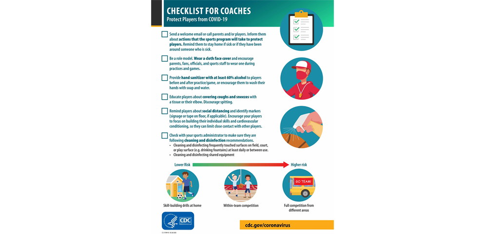 Check list for Coaches