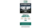 Dicks Sporting Goods coupon March 26 ONLY