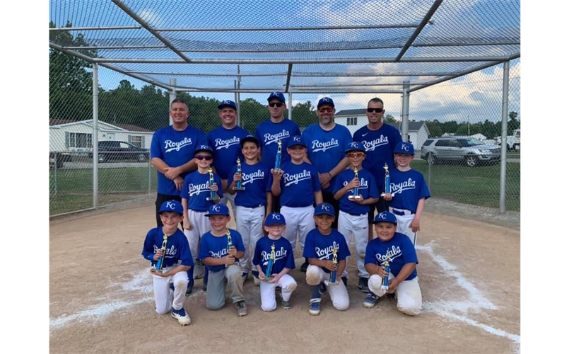 2020 Coach Pitch Champions - Royals