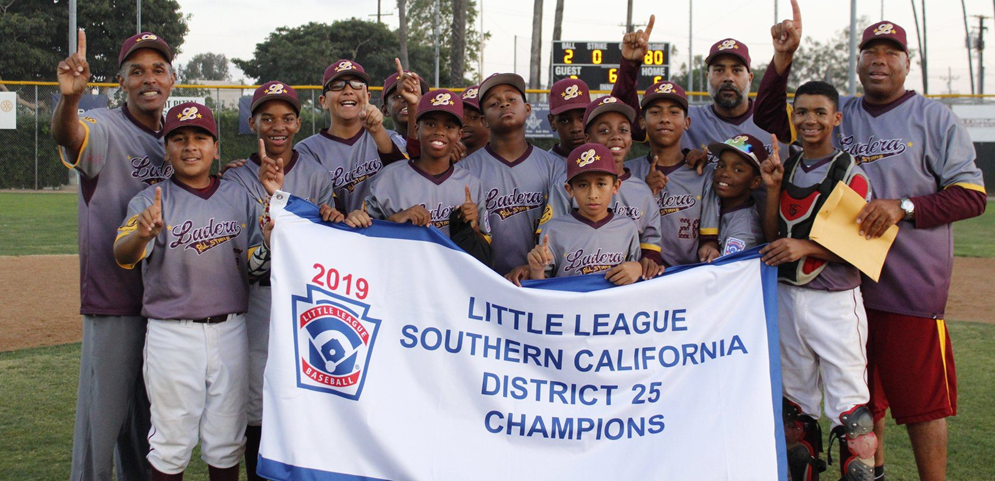 Los Angeles Sentinel Article - Ladera LL 12U Team Has a Banner Year