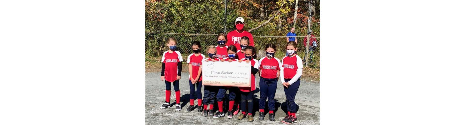 Fearless 8U wins Charity Challenge!