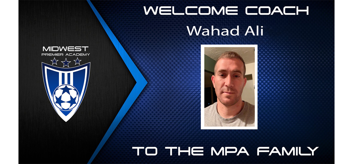 Welcome to the MPA Family Wahad Ali