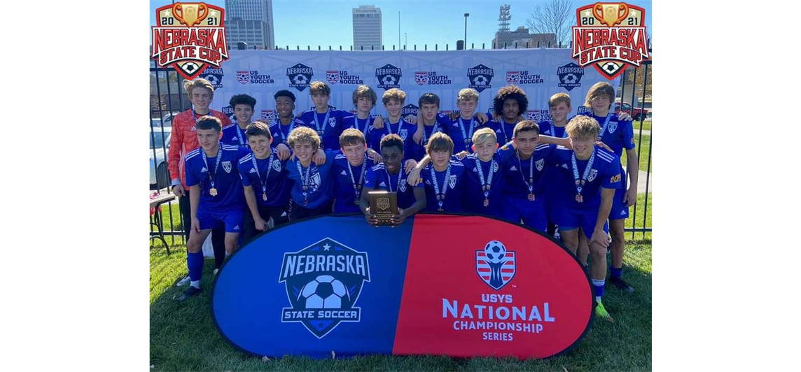 Congratulations Midwest Premier Academy NPL 05B for making history becoming the first ever boys team to win Nebraska State Championship