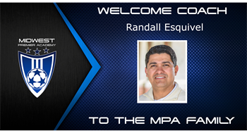 Welcome to the MPA Family Randall Esquivel
