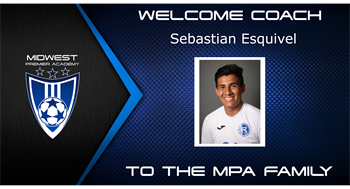 Welcome to the MPA family Sebastian Esquivel
