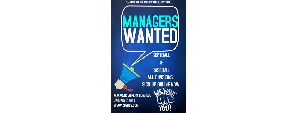 Managers Wanted!