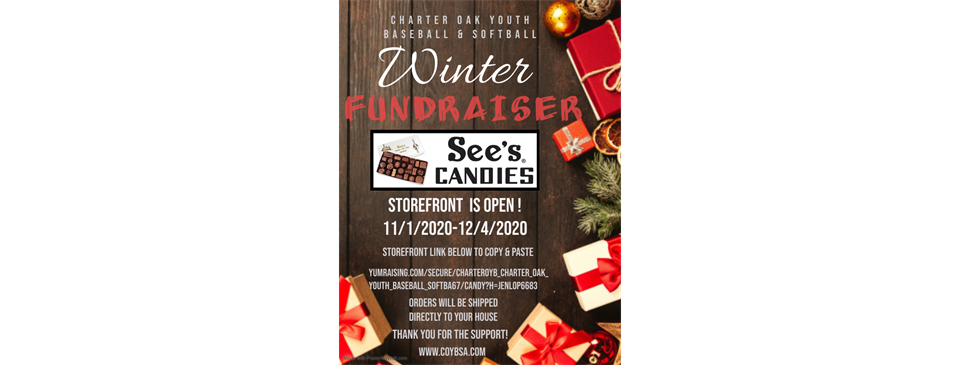 Winter Fundraiser See's Candies! Click on Flyer