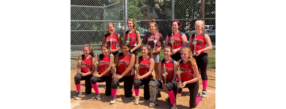 Flames 14U earn Runner Up at the Bridgewater Pink Panther Tournament