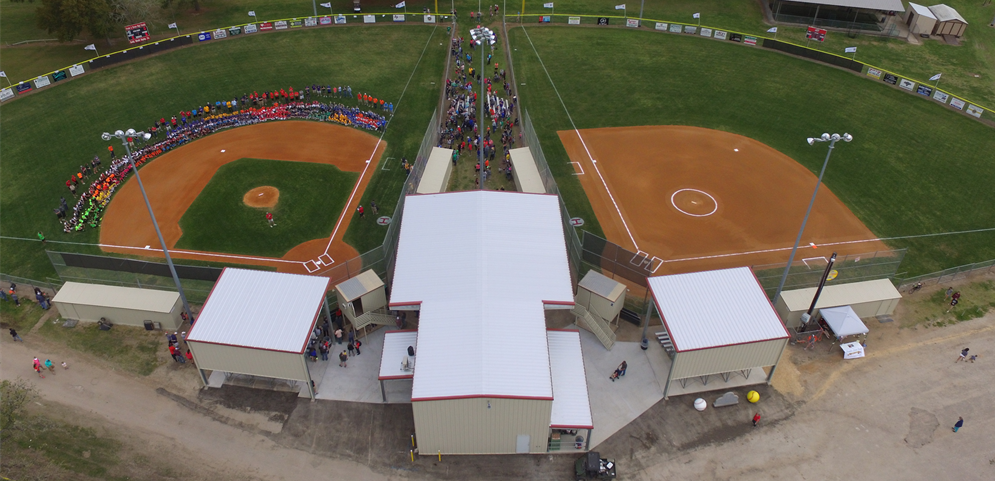 New facilities from drone photo!