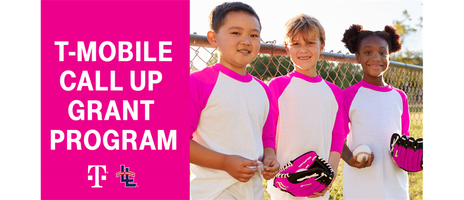 East Hartford Little League believes every child should experience the Little League program, regardless of their financial situation. The T-Mobile Little League Call Up Grant can help!