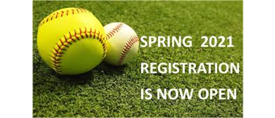 Spring 2021 Registration is now Open!!
