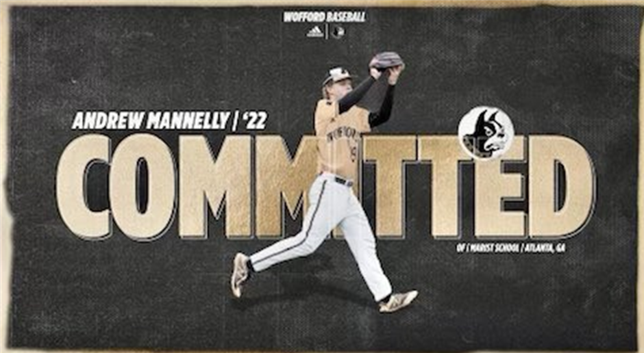 Andrew Mannelly '22 Commits to Wofford College