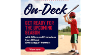 New Offers from Little League Sponsors