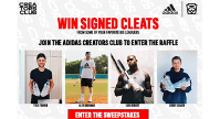 Win Signed Cleats