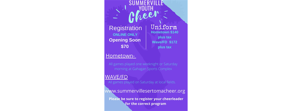 SUMMERVILLE YOUTH CHEER 2021