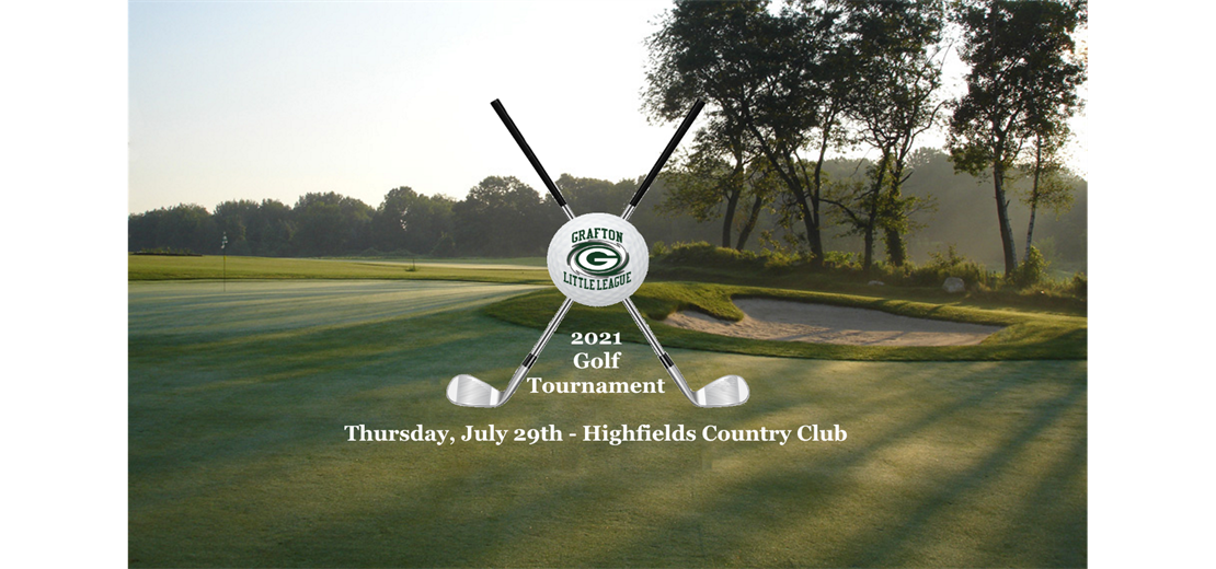 2021 Golf Tournament - Sign Up Now