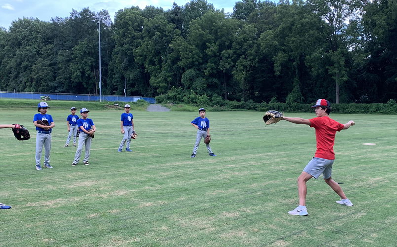 Specialized pitching work with expert coaches!