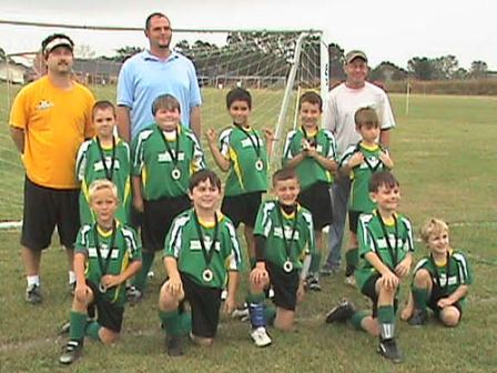 Congrats! TSA Dragons - BU8 at the HTSA Gobbler Cup 2009
