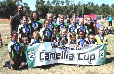 Congrats to TSA GU11 UNITED - Champions at the 2010 Camelia Cup