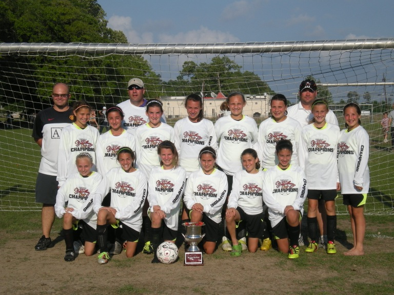 GU12 UNITED at the Strawberry Cup 2011