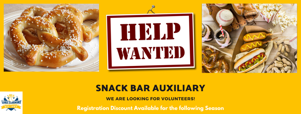 LELL Snack Bar Auxiliary Team