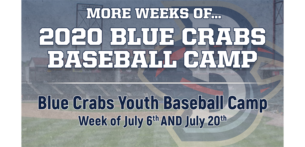 Southern Maryland Blue Crabs 2020 Summer Youth Camp *Click Here*