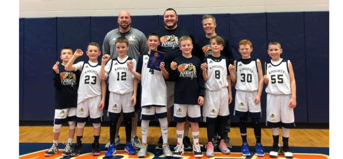 Armstrong Tournament 4th Grade Champions!