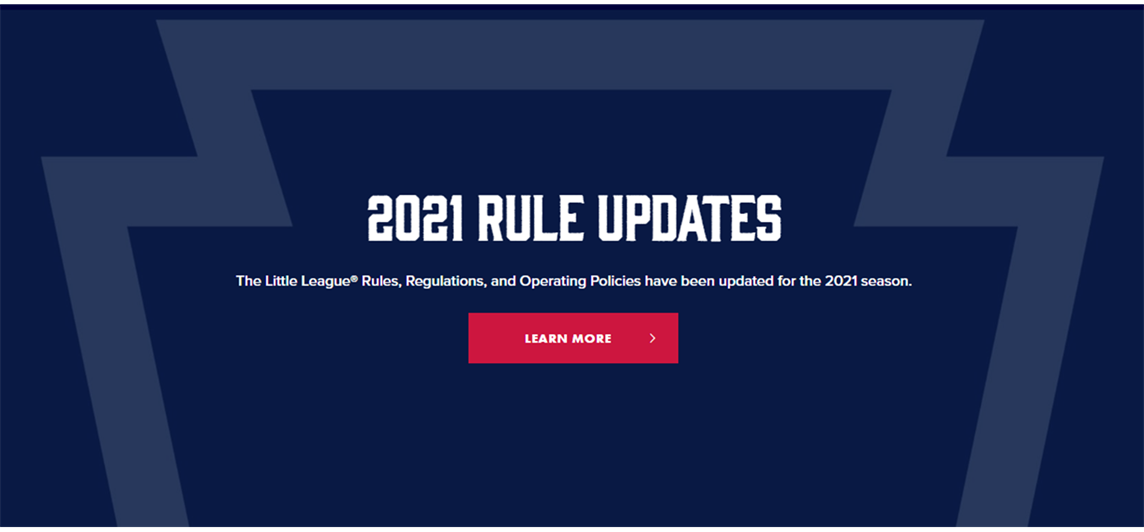 2021 Rule Changes and Clarifications