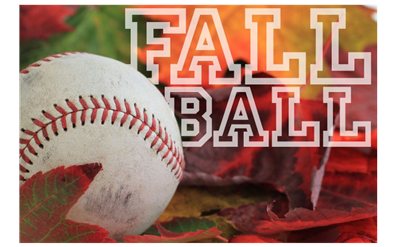 2020 Fall Ball Schedules - Click Photo to View