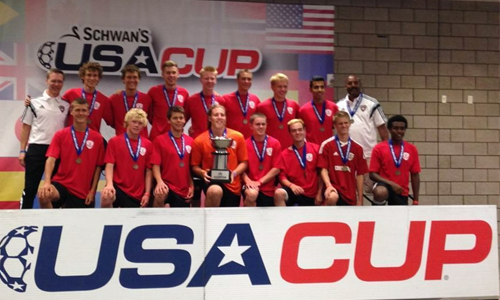 USA Cup Champions!