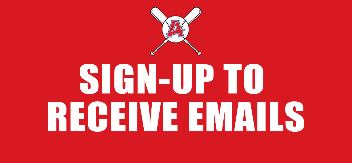 SIGN UP TO RECEIVE OUR EMAILS