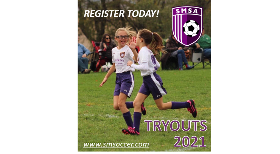 Register for Tryouts Today!