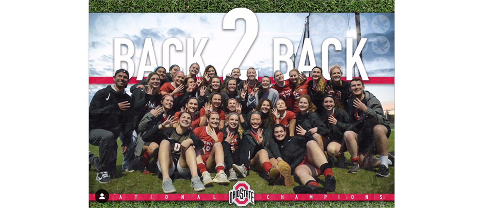 OSU WOMEN'S CLUB SOCCER NATIONAL CHAMPIONS
