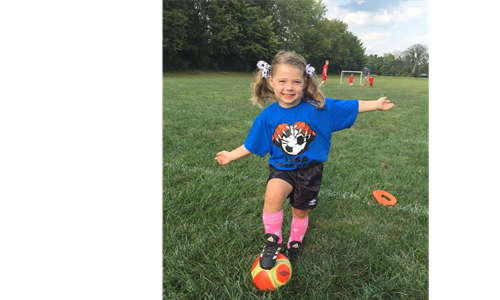 Learn Soccer With Tiger Paws This Spring