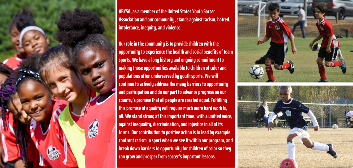 ABYSA Statement on Equality