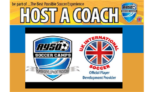 Unique Opportunity to Host a UK International Coach