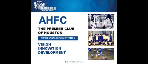 AHFC Futsal Implementation