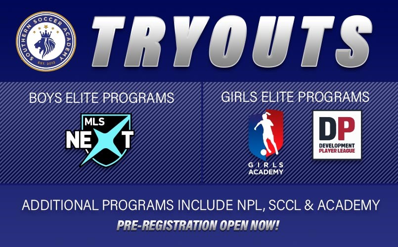 Academy/Select Tryouts