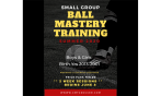Small Group Ball Mastery Training