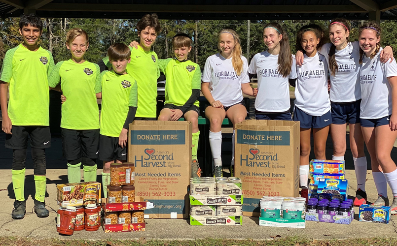 Food Drive for Second Harvest