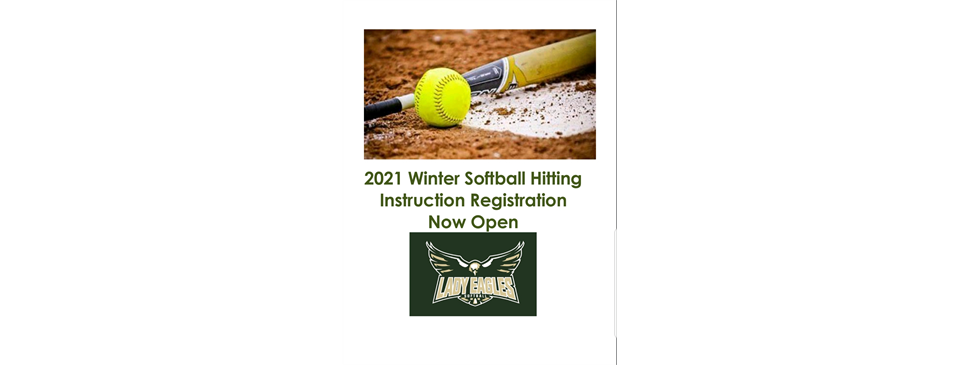 2021 Winter Hitting Softball Instructional Sessions