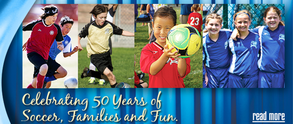 Celebrate AYSO's 50th Birthday!
