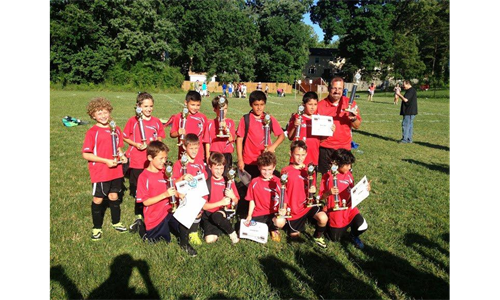 U9B Red Win the Blue Division at All-Stars